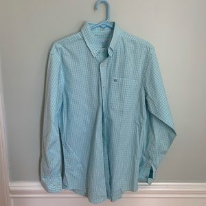 Southern Tide blue Button Down size small